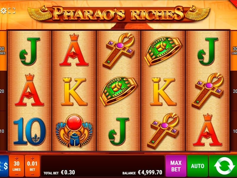 Pharaos Riches Slot: Eines Der Besten Agyptischen Automatenspiele