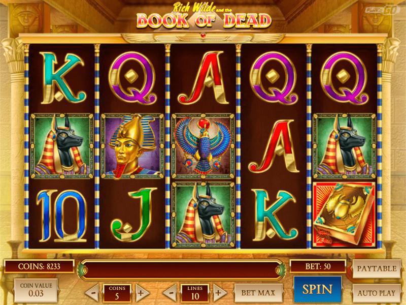 Spielen Sie Book Of Dead Slot kostenlos
